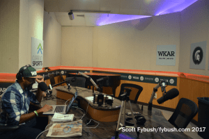 WKAR talk studio