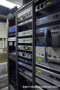 WKAR radio racks