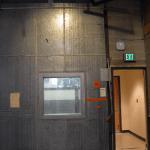 WKAR studio door