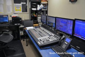 WNYE-FM control room