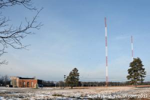 WBEN's towers