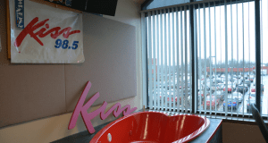 WKSE's hot tub