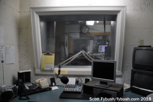 WLVL's news booth