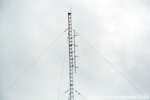 Old FM antenna at WLVL