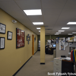 Sales office and history display