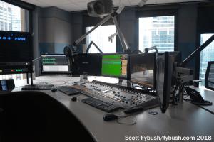 Former WLUP studio