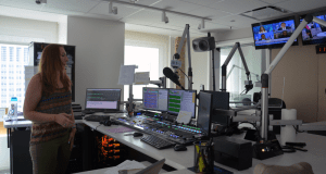 WTMX's renovated studio