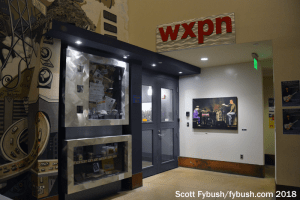 Downstairs at WXPN