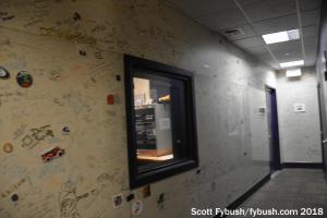 WXPN studio hallway