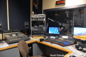 WXPN production room