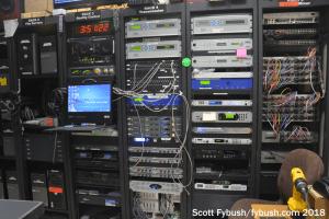 WXPN rack room