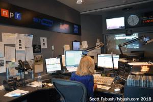 WGBH FM studio