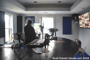 New WDKX studio