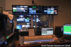 WHAM-TV control room