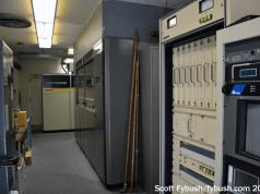 WHAM-TV's transmitter room