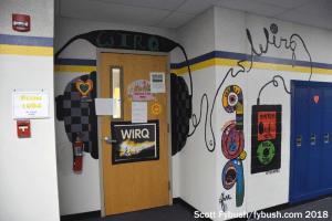 WIRQ's door