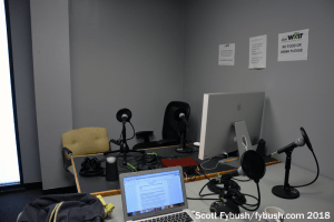 WXIR-LP talk studio