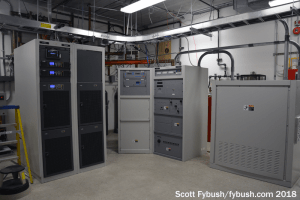 WHPT transmitter room