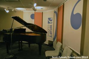 WUFT Classic studio