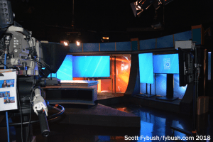 WUFT-TV news set