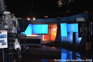 WUFT-TV news set