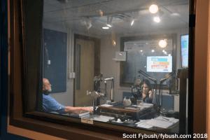 WUFT-FM talk studio