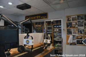 Racks in the WPCV studio