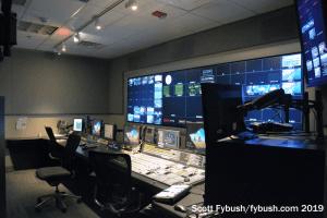 WBAL-TV control room