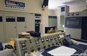 WBAL transmitter room