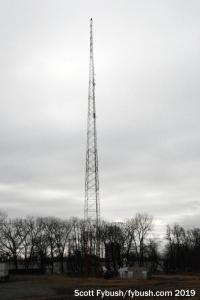 WMAS-FM tower