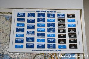 KHCB's sprawling network