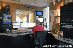 KTRH control room