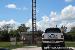KORA/KTAM tower base