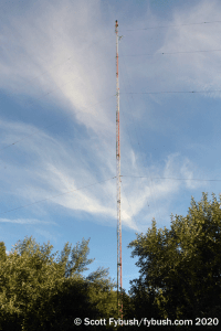 WTBQ's tower