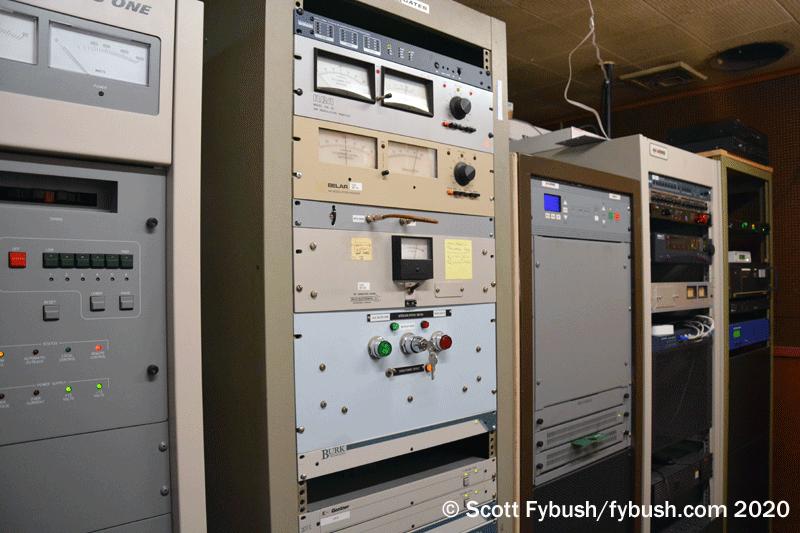 WECK transmitter room