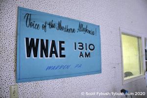 WNAE studio