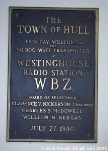 Plaque from 81 years ago
