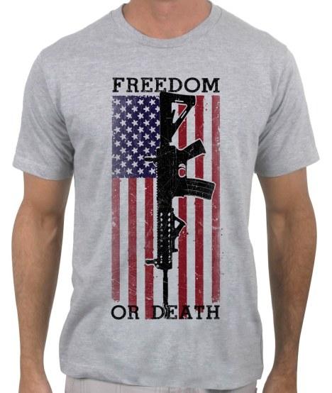 freedom-death-ar-15-heather-grey-tshirt