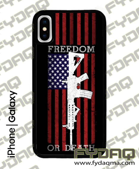 freedom-or-death-iPhone-X-fydaq