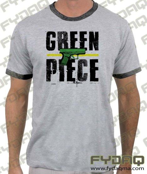 green-piece-glock-ringer-heather-grey-tshirt-FYDAQ