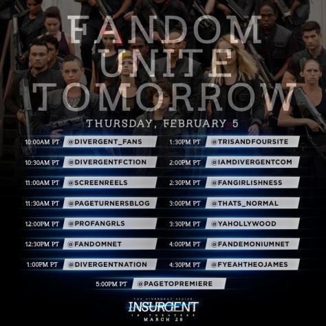 Divergent Fandom Exclusive - Fansites