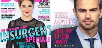 HQ SCANS: Dolly Magazine March 2015 Insurgent Edition