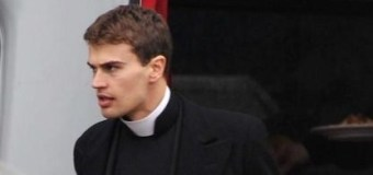 Theo James Grabs Lunch On The Set Of 'The Secret Scripture'