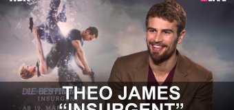 Watch: Theo James Talks Insurgent and What He Does In Between Filming Divergent Movies