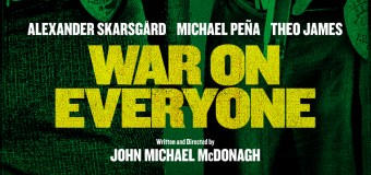 New Theo James Project 'War on Everyone' Promo Poster Reveal