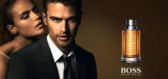 INTERVIEW: Theo James Channels Christian Grey in Hugo Boss Ad Campaign