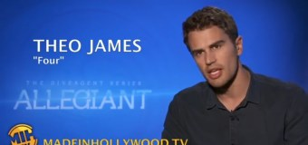 Theo James Uncut interview 'The Divergent Series: Allegiant'