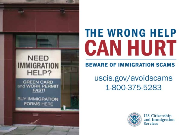 Immigration Scams FY Eye
