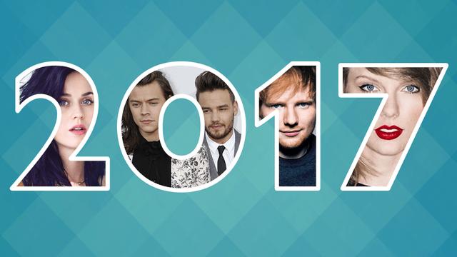 Top Pop Artists 2017