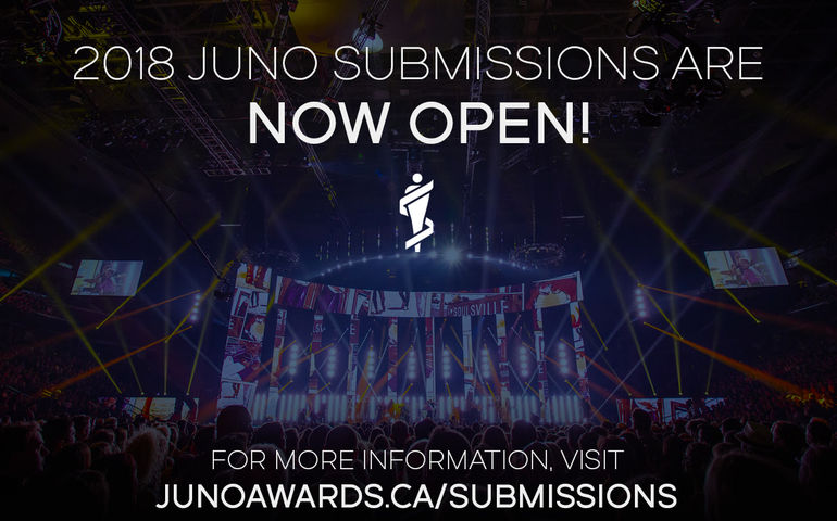 Submissions Now Open For 2018 Juno Awards Fyimusicnews